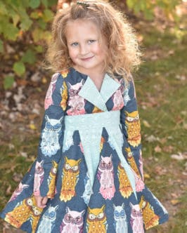 Lilly's Lapel Party Dress   The Simple Life Pattern Company
