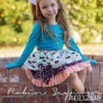Pepper's Peekaboo Ruffle Skirt | The Simple Life Pattern Company