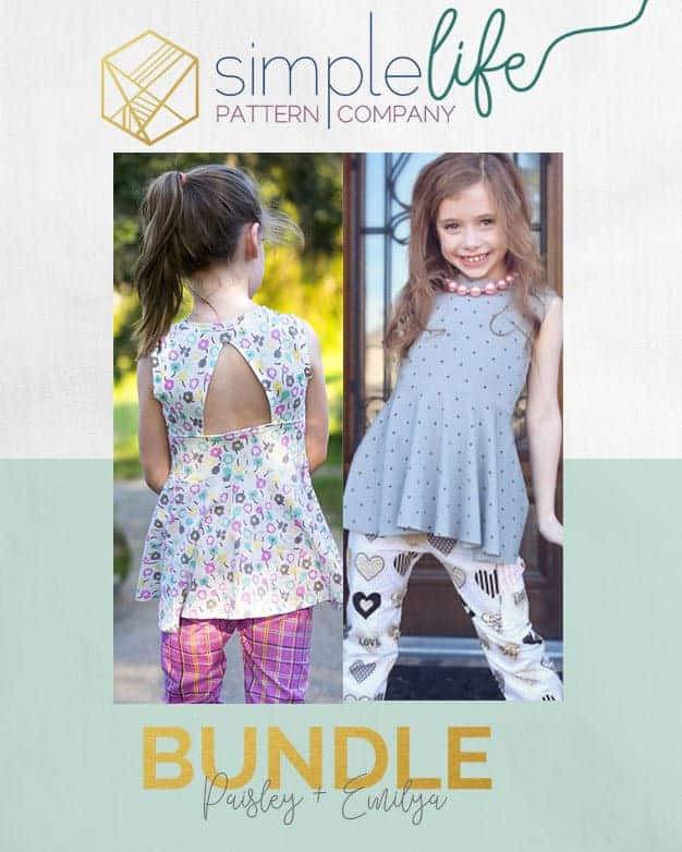 Bundle: Emilya's + Paisley's | The Simple life Pattern Company