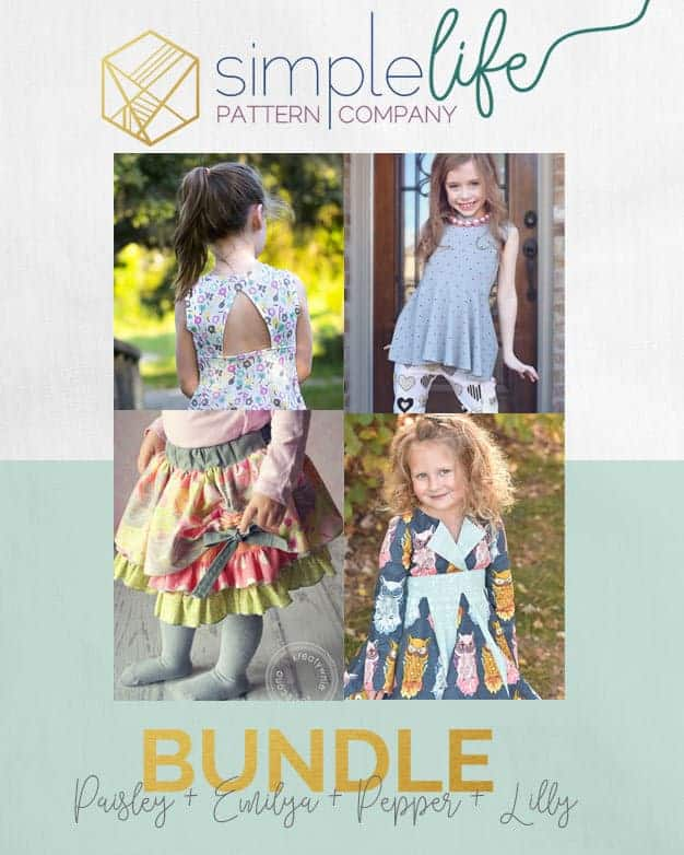 Bundle: Paisley + Emilya + Pepper + lilly | The Simple Life Pattern Company