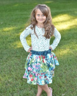Phoebe's Drop Waist Dress | The Simple Life Pattern Company