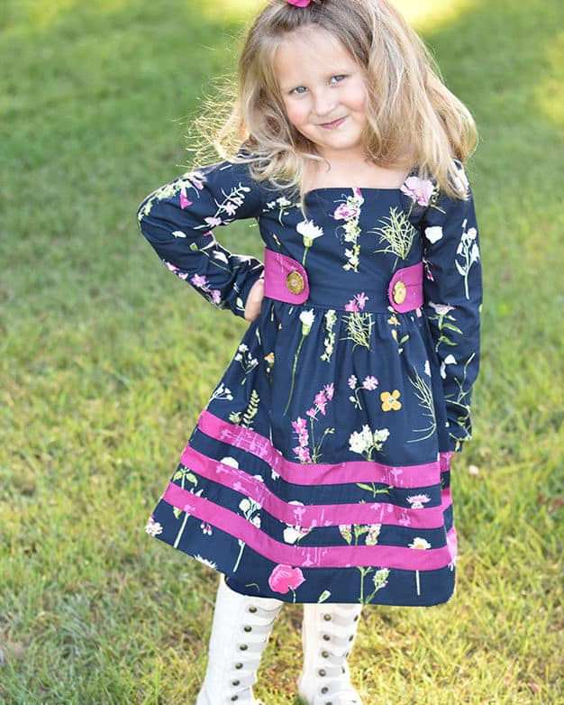 Rayann's Retro Top + Dress | The Simple Life Pattern Company