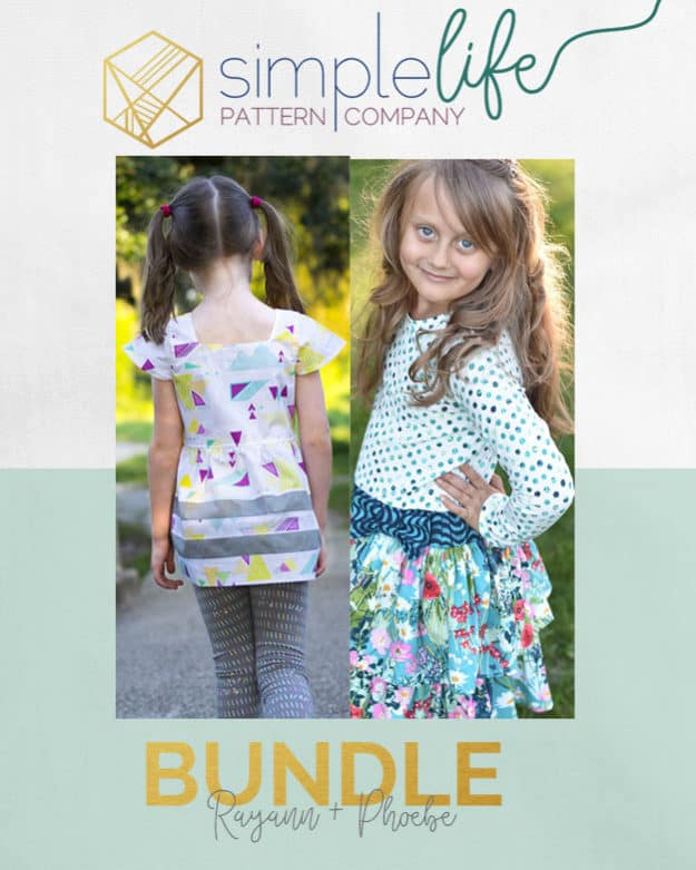 Rayann + Phoebe Bundle | The Simple Life Pattern Company