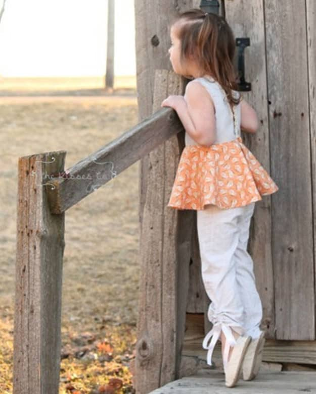Breanna's Peekaboo Shorts, Capris + Pants | The Simple Life Pattern Company
