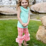 Chloe's Ruffle Leggings + Capris + Shorties | The Simple Life Pattern Company