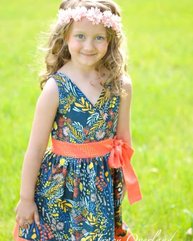 Megan's Wrap Top + Dress | The Simple Life Pattern Company
