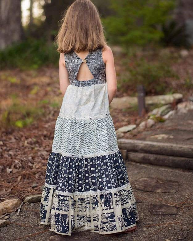 Mia's Tieback Top + Dress + Maxi | The Simple Life Pattern Company