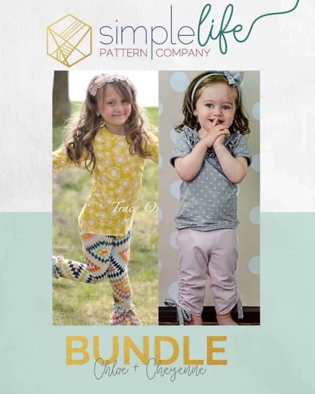 Bundle: Chloe + Cheyenne | The Simple Life Pattern Company