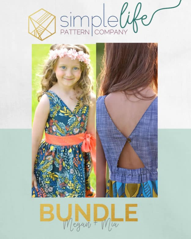 Bundle: Megan + Mia | The Simple Life Pattern Company
