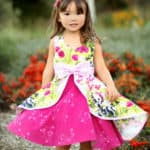 Kinley's Cascading Flounce Top + Dress | The Simple Life Pattern Company