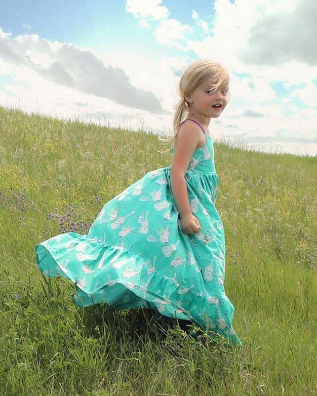 Bella's Maxi + Dress | The Simple Life Pattern Company