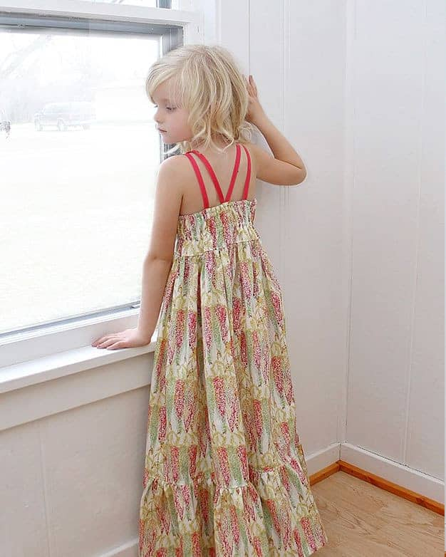 Bella's Maxi + Dress | The Simple Life Pattern Company