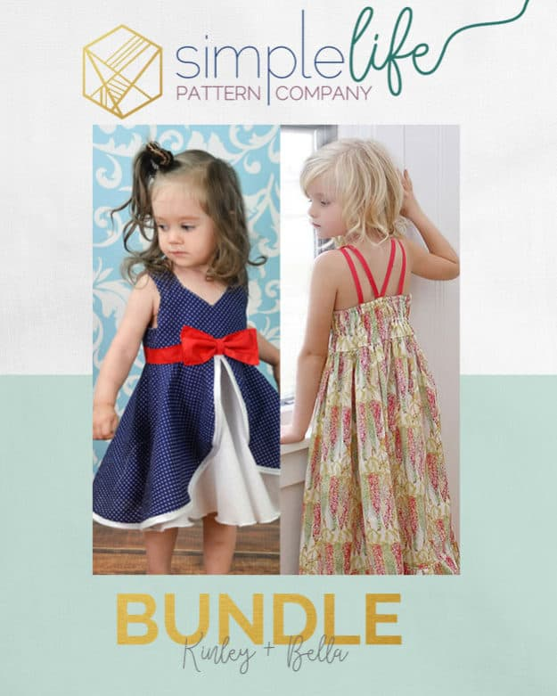Bundle: Kinley + Bella | Dress | The Simple Life Pattern Company