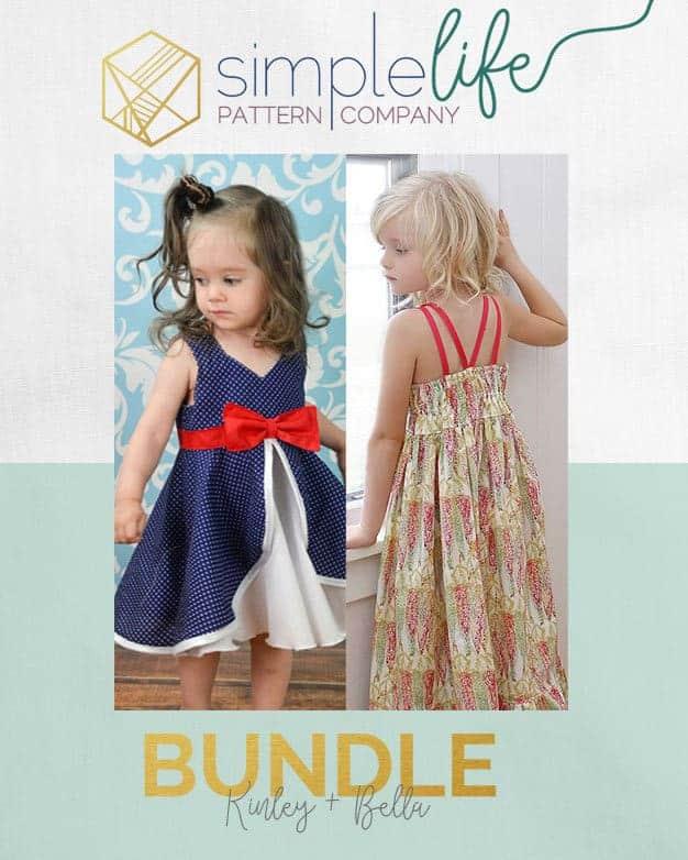 Bundle: Kinley + Bella | Dress | The Simple Life Pattern Company