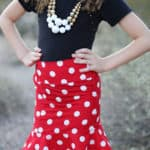 Penny's Pencil + Flounce Skirt | The Simple Life Pattern Company