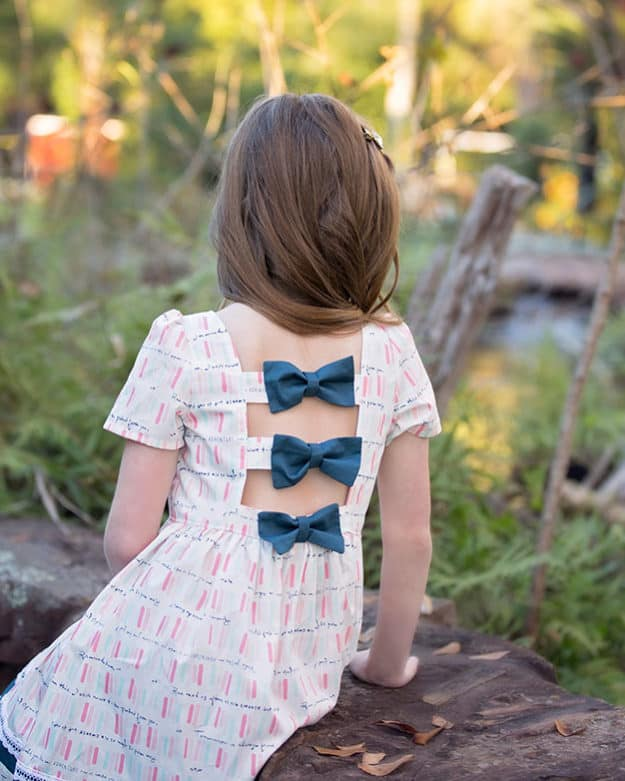 Brenda's Bow Back Top + Dress | The Simple Life Pattern Company