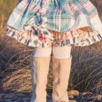 Baby Pepper Peekaboo Ruffle Skirt | The Simple Life Pattern Company