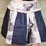 Polly's Drop Waist Skirt | The Simple Life Pattern Company