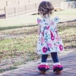 Baby Chloe's Ruffle Leggings, Capris + Shorties | The Simple Life Pattern Company