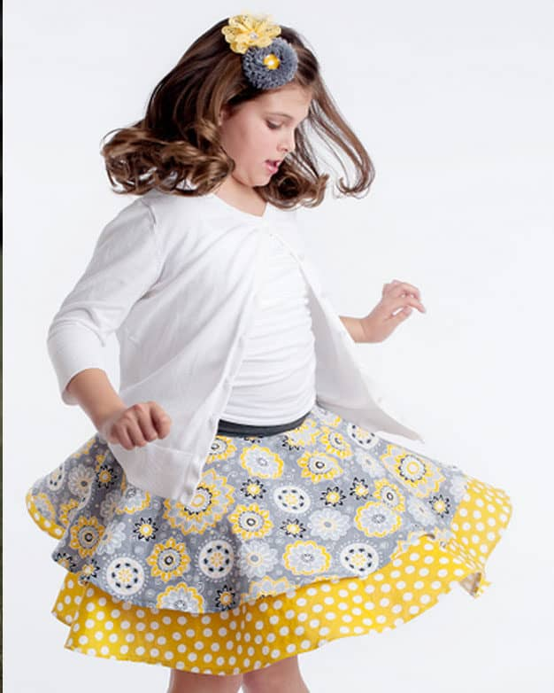 Tilly's Circle Skirt | The Simple Life Pattern Company