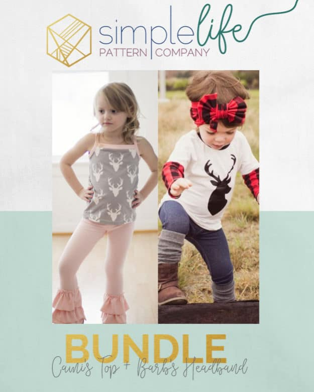 Cami's Top + Barb's Headband Bundle | The Simple Life Pattern Company