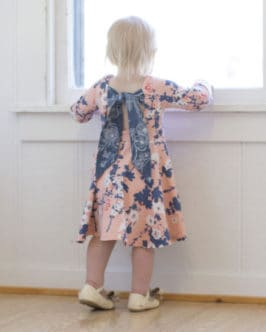 Adelyn Scoop Back Top + Dress | The Simple Life Pattern Company