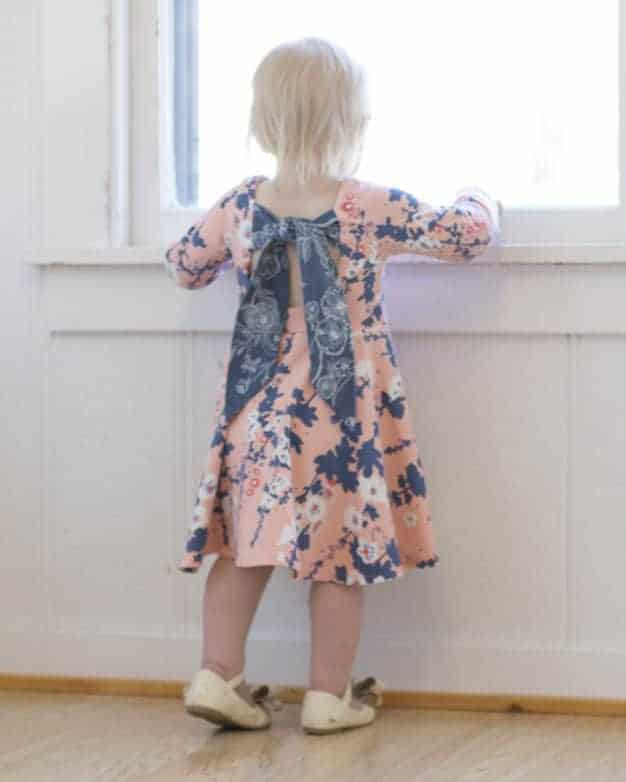 Baby Adelyn\'s Scoop Back Top & Dress | The Simple Life Pattern Company