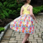 Lucy Back Dress   The Simple Life Pattern Company