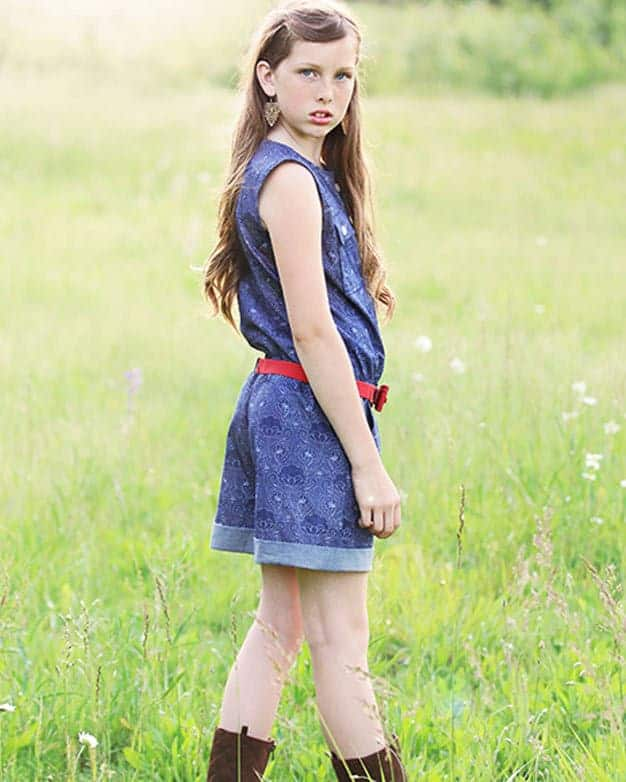 Jane\'s Romper & Dress   The Simple Life Pattern Company