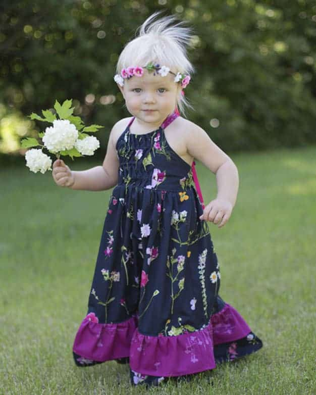 Baby Cora Maxi Dress | The Simple Life Pattern Company