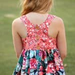 Lucy Back Dress | The Simple Life Pattern Company