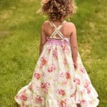 Cora Dress Strappy Back   The Simple Life Pattern Company