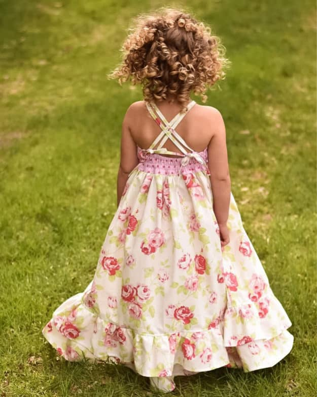Cora Dress Strappy Back | The Simple Life Pattern Company