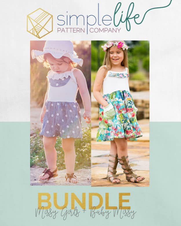 Baby Girl Missy | The Simple Life Pattern Company