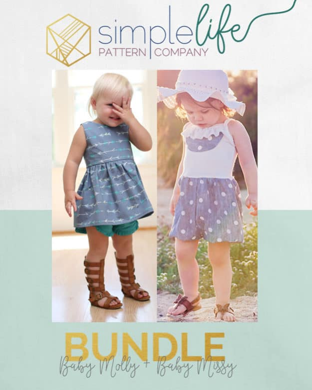 Baby Molly + Missy | The Simple Life Pattern Company | Bundle