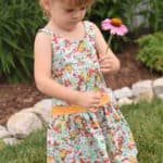 Hailey Drop Waist Top + Dress | The Simple Life Pattern Company