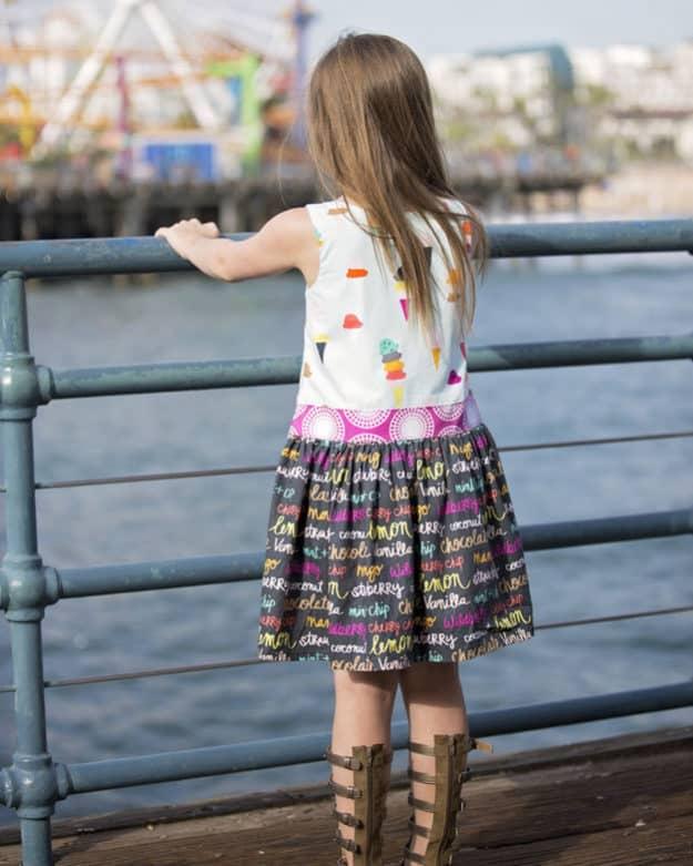 Hailey Drop Waist Top + Dress   The Simple Life Pattern Company