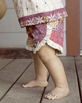 Baby Tammy Shorts | The Simple Life Pattern Company