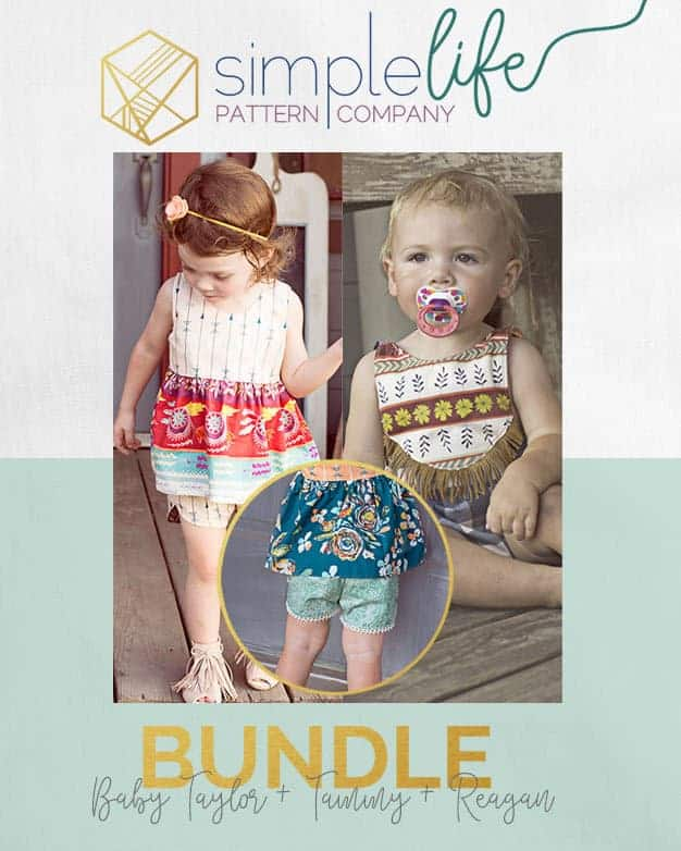 Bundle - Baby Taylor Tammy Reagan | The Simple Life Pattern Company