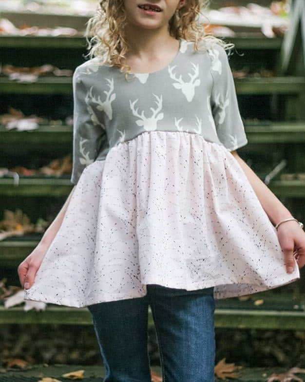 Isla\'s Infinity Tunic and Dress | The Simple Life Pattern Company
