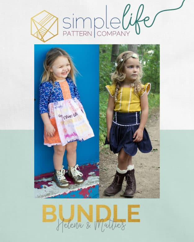 Helena + Matties Bundle | The Simple Life Pattern Company