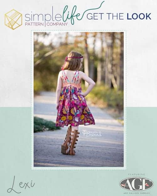 Get the look Lexi The Simple Life Pattern Company