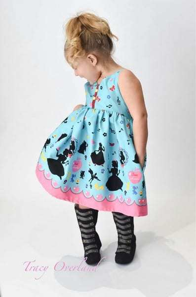 Lexi's Strappy Back Dress & Maxi. PDF sewing patterns for girls sizes 2t-12