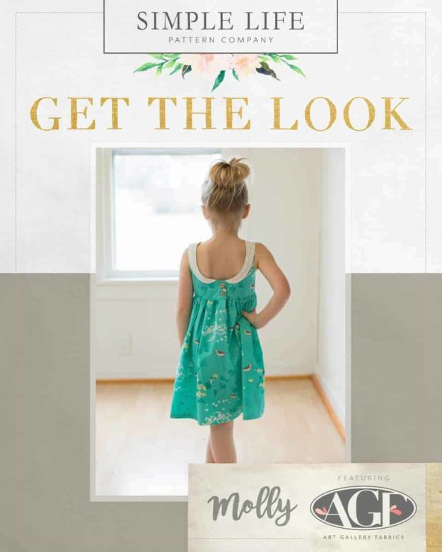GET THE LOOK - Molly's Top, Dress OR Maxi. 2t-12. Coastline - Beachcomber Tide