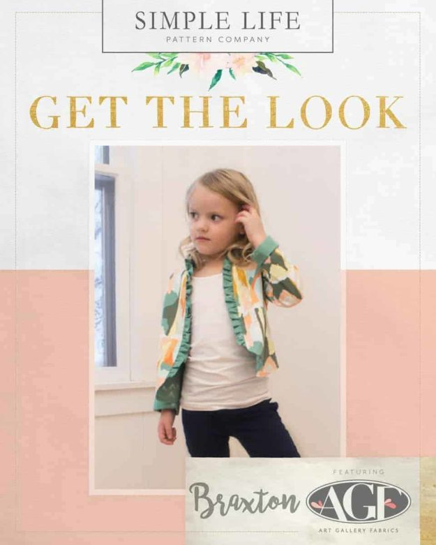 GET THE LOOK - Braxton's Blaxer sizes 2t-12. Bound - Painting