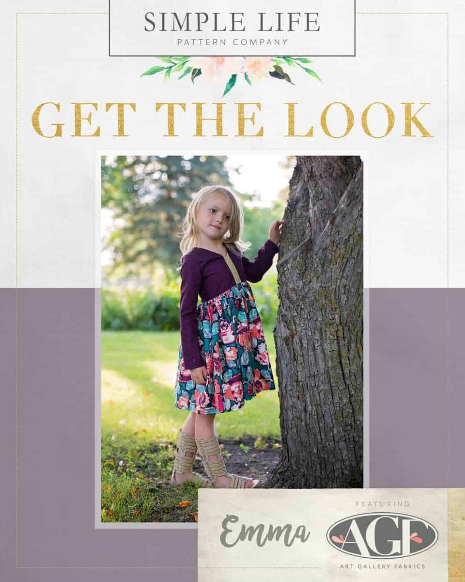 GET THE LOOK - Emma's Top, Dress OR Maxi. 2t-12. Recollection