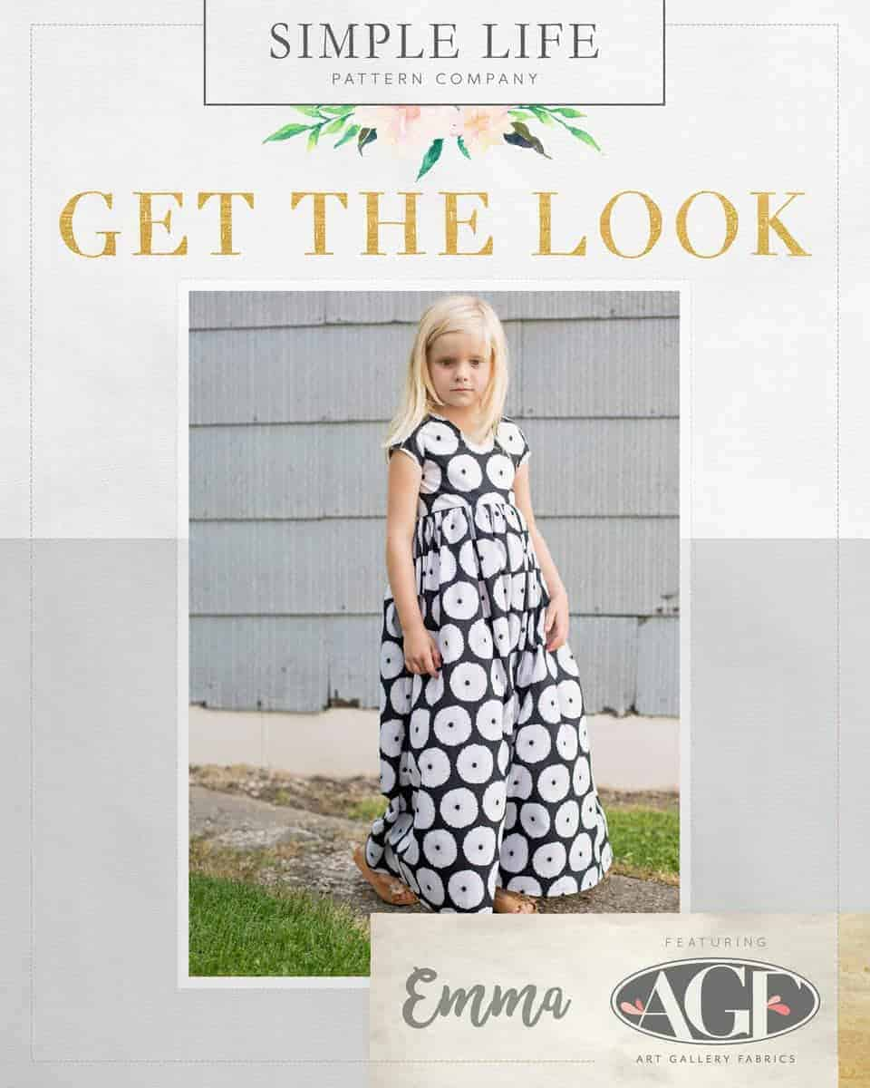 GET THE LOOK - Emma's Top, Dress OR Maxi. 2t-12. Lagom Buoyancy