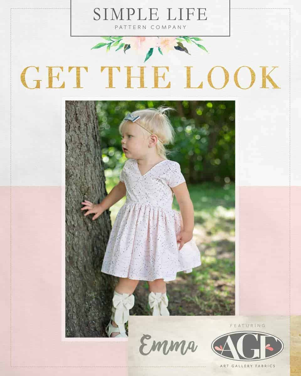 GET THE LOOK - Emma's Top, Dress OR Maxi. 2t-12. Wonderland