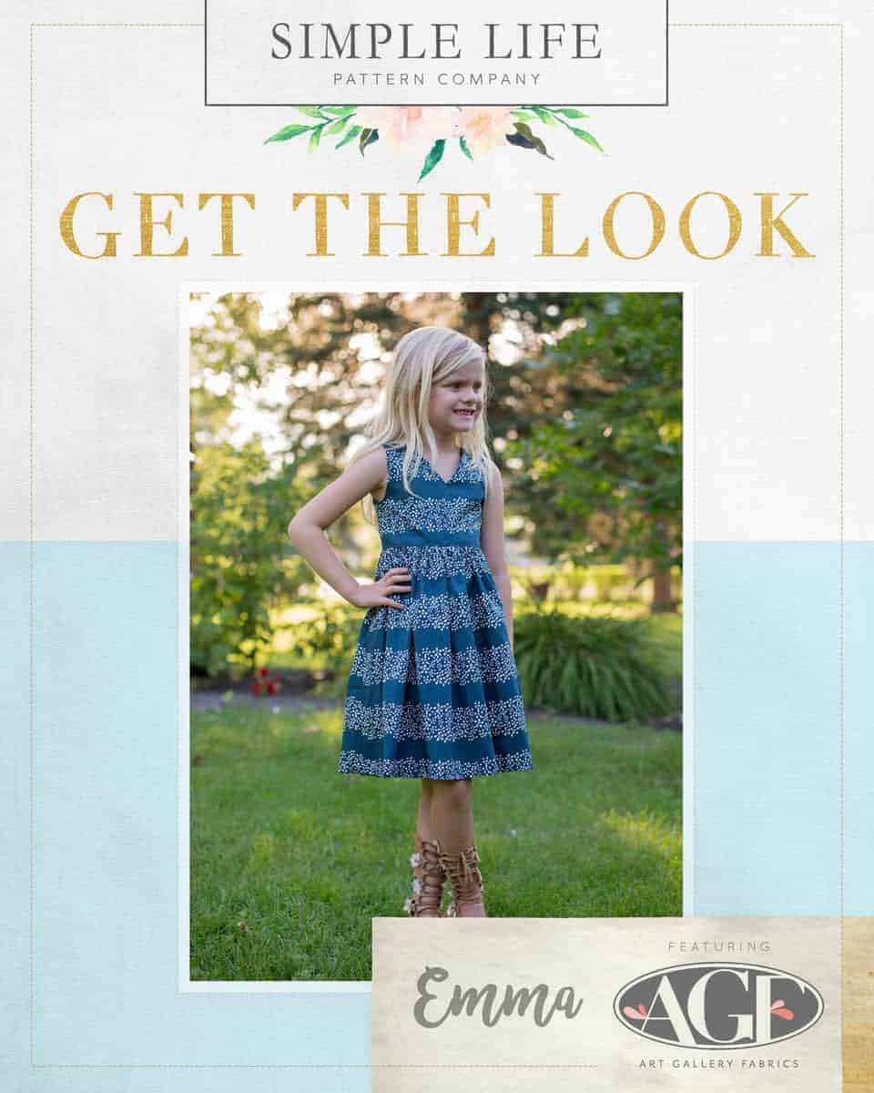 GET THE LOOK - Emma's Top, Dress OR Maxi. 2t-12. Dare