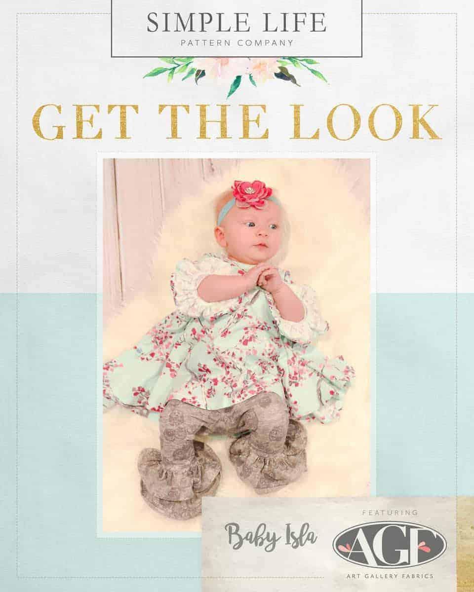 GET THE LOOK - BABY Isla's Infinity Tunic & Dress. NB- 24 months. Wonderland